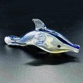 Переносная ручная трубка для курения Lovely Dolphin Трубка Табак Масло Стеклянная трубка для горелки Набор