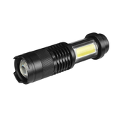 XANES SK68-COB XPE+COB 1000Lumens 4Modes Zoomable Tactical EDC LED Flashlight