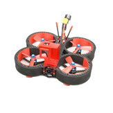 HGLRC Veyron 3 136 mm F4 ZEUS 35A ESC 3 Zoll 4S / 6S Cinewhoop FPV-Renndrohne PNP BNF mit Caddx Ratel 1200TVL-Kamera