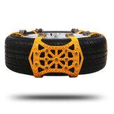 Correntes antiderrapantes para pneus universais de neve para caminhões SUV ORV emergência inverno