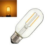 Dimmable T45 E27 E26 2W COB Retro Vintage Edison Warm White 120Lm Light Lamp Bulb AC110V AC220V