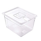 JUSTBUY LT011 11L Sous Vide Cooker Containers Detachable Dividers Separator for Immersion Circulators