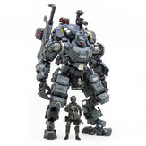 JOYTOY Action Figure Multi-joint Osso d'acciaio girevole Attack Mecha Police Grey Figure New Toy for Collectible Toys