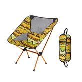 Ao ar livre Portátil Cadeira Dobrável de Liga de Alumínio PARA CHURRASCO Assento Tamborete Camping Piquenique Carga Máxima 150 kg