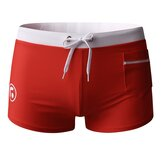 Men's Boxer Shorts Swimwear Swimming Trunks Shorts Breathable Soft Quick Dry