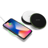 Qi Caricabatterie wireless 10W Dock di ricarica rapida per Samsung Note 9 per iPhone XS