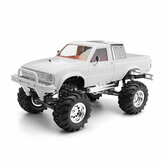 HG P407A 1/10 2.4G 4WD RC Car Kit do TOYATO Metal 4X4 Pickup Truck bez akumulatora serwo nadajnik ESC