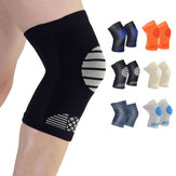 Mens Flexible Sweat Outdoor Sport Knee Pads Fitness Thin