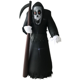 Halloween Black Sickle Grim Reaper Inflatable Ornament With Light for Halloween Decoration