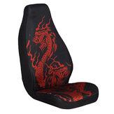 Universal Dragão Carro de poliéster SUV Tampa de assento Protetor de almofada de assento de motorista