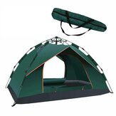 2-3 Persons Family Camping Tent Automatic Instant Tent Ventilated Waterproof Windproof UV-proof Outdoor Shelter Canopy