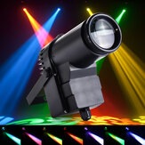 30W RGBW LED DMX512 Spot Light Spotpot Beam Spotlight 6CH para DJ DISCO Party KTV