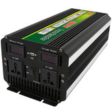 3000W 6000W Peak 12V / 24V til 220V Power Inverter til Solar / Wind med LCD Display