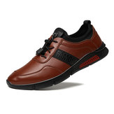 Men Leather Business Casual Flats