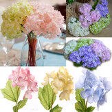 Artificial Flower Hydrangea Silk Bridal Bouquet Party Home Wedding Decor 5 Colors Flowers