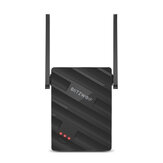BlitzWolf® BW-NET2 Wireless Repeater 300Mbps Wireless Range Extender Supports 64 Devices Portable WiFi Signal Amplifier