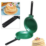 7.5 Inch Flip Double Side Fry Frying Pan Non Stick Round Cake Pancake Toast Egg