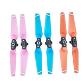 1 Pair Quick Release Folding Propellers Colorful Transparent Clear Blades For DJI Spark RC Drone