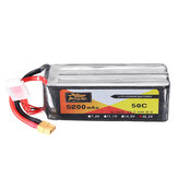 ZOP POWER 22.2V 5200mAh 50C 6S Bateria Lipo z wtyczką XT60 do modeli RC