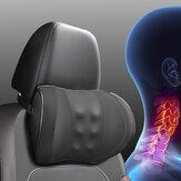 Almofada de encosto de cabeça para assento de carro Almofada lombar Espuma de memória para cabeça, pescoço / cintura