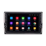 9 Inch Cuatro Nucleos Para Android Coche Pantalla táctil estéreo Radio Navegación GPS Wifi AM con doble perilla