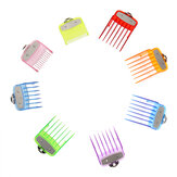 8Pcs Hair Clipper Attachment Combs Guide Limit Comb Replacement For WAHL Hair Clipper