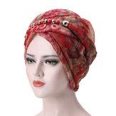 Dames Bali garen ketting sjaal etnische stropdas tulband cap