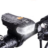 XANES 600LM XPG + 2 LED Cykel Tysk Standard Smart Sensor Advarselslys Bike Front Light Forlygte