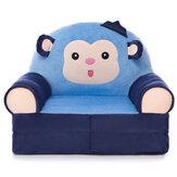 Детский чехол для дивана с героями мультфильмов, обучение сидению, удобный складной чехол для малышей Soft, флисовое сиденье, протектор для с