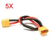Stecker Verlängerungskabel Kabel männlich weiblich XT60 5Pcs 30cm Batterie ESC