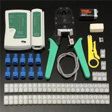 Raitool ™ CP10 RJ45 Cat5e Cat6 Сеть Ethernet LAN Кабельный тестер щипцов для обжима Набор инструментов
