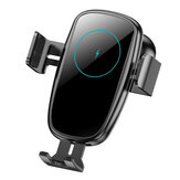 Bakeey 15W Car Wireless Charger Infrared Induction Clamping Air Vent Car Phone Holder For iPhone XS 11Pro Mi10 Note 9S POCO X2