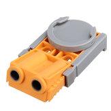 Drillpro Woodworking Pocket Hole Jig Punching Locator Screw Adjustable Multifunctional Pocket Hole Jig Locator Suitable for DIY Woodworking Tools