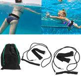 2m水泳安全ベルト大人の子供用筋力バンドウォータートレーニングツール屋外ウォータースポーツ