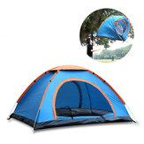 3-4 persone tenda parasole rapida automatico di apertura Sun Shelter Single Layer impermeabile Ombra UV escursione di campeggio