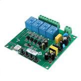 AC110V AC220V 10A Sterowanie Inteligentny punkt przełączania Przekaźnik zdalny 4-kanałowy moduł WiFi bez powłoki