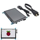 5 Inch 800x480 HDMI Touch Capacitive LCD Screen With OSD Menu For Raspberry Pi 3 B+ / BB Black