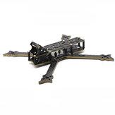 HSKRC VO235 235 mm Distancia entre ejes 5 Inch Kit de marco de fibra de carbono de brazo de 4 mm para RC Drone FPV Racing 110g