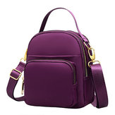 Women Nylon Multi-pocket Crossbody Bag Lightweight