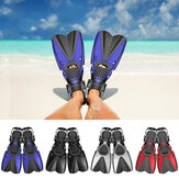 HhaoSport F621 1 Pair Snorkel Fins Swimming Diving Flippers PP TPR Comfortable Water Socks for Adult
