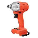 18V 0-4000RPM  520N.M Cordless Brushless Impact Wrench With LED Work Light