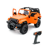 F1 F2 1/14 2.4G 4WD RC Car for Jeep Off-Road Vehicle with LED Light Climbing Truck RTR Model