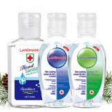 4 PZ LANGMANNI 60ML Sterilizzazione Senza alcool Gel Mano spot Amminoacido batteriostatico Gel Disinfettante a mano libera Sapone Disinfettante