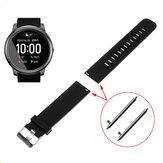Havit 22mm Glossy Monochrome Silicone Strap Smart Watch Band For Xiaomi Haylou Solar Smart Watch Non-original