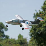 MinimumRC Fanjet 360mm Lebar Sayap KT Foam Mini RC Airplane KIT Dengan EDF / EDF + Servos