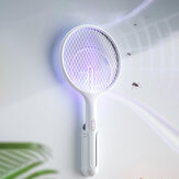 UV Light Mosquito Swatter Rechargeable Handheld Electric Mosquito Killer Insect Fly Wall-mounted Mosquito Dispeller