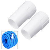 2 Pcs Vacuum Corrugated Hose Cuffs 1.5 inch Swimming Pool Suction Hose Cleaning Cuff