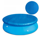 Pool Cover Round For Swimming Pool 6/10/12ft Sheet Cover Tarpaulin Above Mat