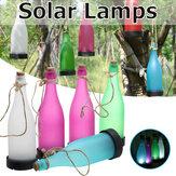 5pcs LED Solar Bottle Light Hanging Outdoor Modeling Plastic Garden Decoration Lamp