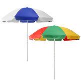 2,4 м патио зонтик от солнца зонтик от солнца Пляжный Сад На открытом воздухе